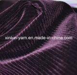 Водоустойчивый занавес полиэфира Flocking ткань для софы/одежды/домашнего тканья