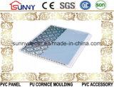 Placa do Painel-PVC decorativo impermeável da parede e do teto do PVC