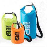 Мешок PVC изготовленный на заказ пакета океана логоса водоустойчивого напольный сухой