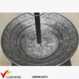 Поднос металла стойки торта плит Luckywind 2