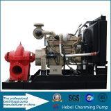 Bomba de água Diesel de transferência elétrica centrífuga grande de 8 polegadas