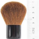 Brosse de maquillage de Kabuki de poignée de cheveux et en métal de chèvre de marque de distributeur
