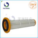 De geplooide Zak van de Filter van de Collector van het Stof van de Polyester