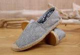 熱い販売の標本設計の麻の平らな人の靴(MD 20)