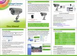 Câmera impermeável do IR da bala do cartão do USB do Micro-SD da visão noturna do CCTV