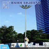 éclairage élevé de mât de plaza extérieure de 30m