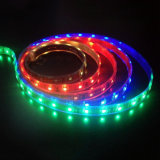 Cinta ligera flexible DC12V/24V del color del LED RGB