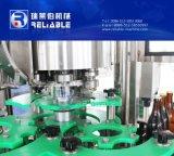 Máquina de embotellado de cristal automática para el refresco del jugo del vino de la vodka