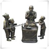 Статуя старой классицистической бронзы сада конструкции большая для сбывания (IO-s006/s007/s008/s009/s010)