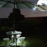塀の傘のバックパックランプのための磁石が付いている携帯用太陽LEDライト