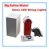 Luz de la cadena de la Navidad LED accionada por salino o el agua de mar