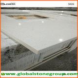 Vanité blanche extérieure solide de quartz pour le projet d'hospitalité/entrepreneur de Furnitute