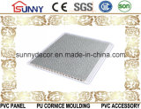 Soffitto laminato piano della parete Panel/PVC del PVC del materiale da costruzione della Cina per la decorazione dell'interno