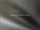PVC sintetico del cuoio del reticolo di Lychee per mobilia, sofà