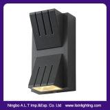 IP54 exterior y lámpara de pared decorativa del LED con arriba y abajo de la luz