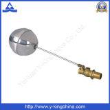 Latón válvula de flotador de bola con bola inoxidable (YD-3013)