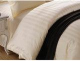 Jogo do fundamento do algodão do hotel da tira do cetim com o Comforter ajustado (WS-2016058)