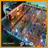 Модель здания проекта/промышленная модель мастерской