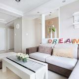 Casa de aço moderna padrão da casa de campo de China com tamanho personalizado
