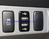 2.1A Dual USB Power Socket para Smart Phone PDA iPad iPhone Charger para Toyota Vigo