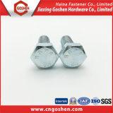 Verzinkte ASTM A307A Hexagon-Schrauben des Kohlenstoffstahl-