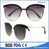 Do frame retro do metal dos Eyeglasses dos óculos de proteção das mulheres óculos de sol redondos doces