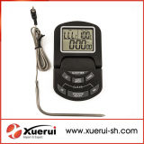 DIGITAL Countdown TimerとのデジタルBBQ Cooking Thermometer