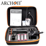 Archon5200 LmCREE Xml2 U2 LED nachladbare 18650 Tauchens-Lichter der Batterie-LED