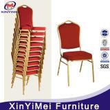 低価格の椅子を食事する専門の工場強い金の背部贅沢な宴会