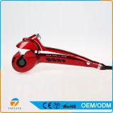 Automáticamente plancha para el pelo Rizador giratoria del bigudí de pelo con Digital Pantalla de temperatura