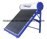 Sin presión calentador de agua solar Decimosexto 180L5