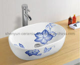 Dispersore di ceramica della stanza da bagno di colore del lavabo (MG-0019)