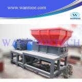 Sistema plástico de la desfibradora de la sola basura del eje