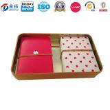 Коробка олова витринного шкафа играя карточки 2 палуб