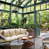 Низкий уровень оценил красивейшую конструкцию для дома цветка Sunroom алюминиевой (FT-S)