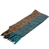 Forma longa Pashmina do lenço da viscose 196*70cm das senhoras