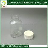 100ml Fles van het Huisdier van de Capsule van de geneeskunde de Duidelijke Plastic
