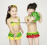 Form-süsse Frucht-Drucken-Mädchen-Badebekleidungs-Kind-Badeanzug-Kind-Abnützung