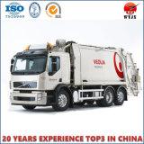 Cilindro hidráulico ativo dobro para o caminhão de lixo