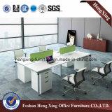 現代オフィス用家具6人のまっすぐなオフィスワークステーション(HX-6D087)