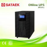 Alta freqüência em linha monofásica da bateria do UPS da fase 6kVA/10kVA