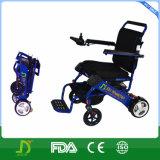 sillón de ruedas eléctrico plegable portable de 180W Moterized