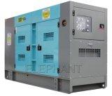 дизель генератора молчком Cummins силы 25kVA 30kVA 50kVA 60kVA 80kVA 100kVA 150kVA 200kVA 250kvasoundproof тепловозный