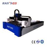 Machine de découpage de laser de commande numérique par ordinateur de fibre pour la tôle avec la torche de laser