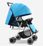 Adjustable Sunshade를 가진 높은 Viewpoint Landscape Baby Stroller