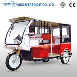 Мотоцикл 3 колес, электрический трицикл мотоцикла для пассажира
