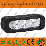 40Wクリー語Single Row Work Light Bar、Offroad Super Bright (NSL-4004C)