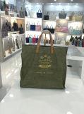 5つのカラー高品質によって洗浄されるクラフトのハンドバッグの男女兼用の方法は袋に入れる(A083)