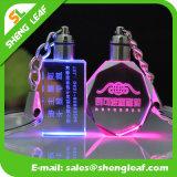 СИД светлое модное цветастое кристаллический Keychain (SLF-OK001)