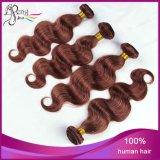 33 # cabelo 100% humano de Remy do Virgin da onda do corpo Extenation